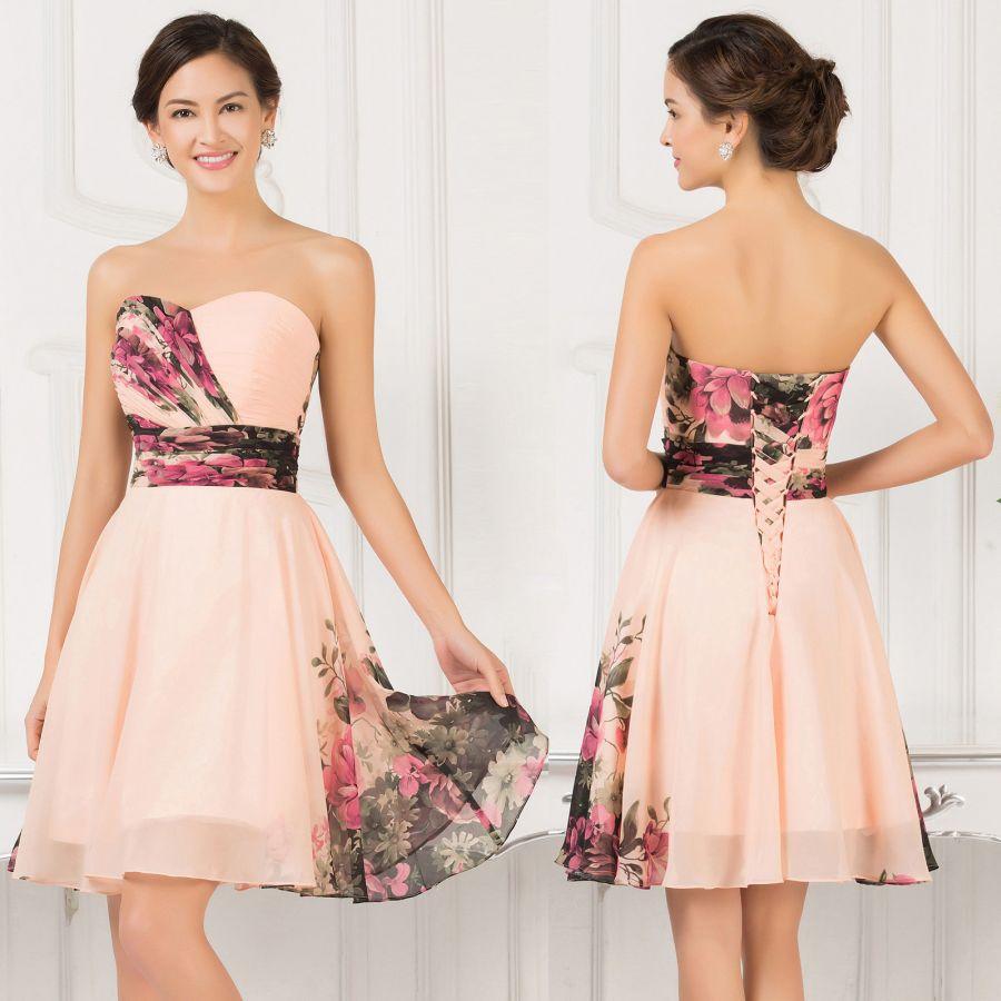 ca6016dd4a4 vintage květované růže společenské šaty na svatbu - plesové šaty ...